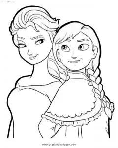 Frozen 00 gratis Malvorlage in Comic & Trickfilmfiguren