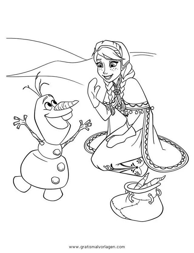 Frozen 36 gratis Malvorlage in Comic & Trickfilmfiguren