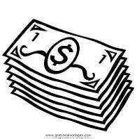 geldscheine 4 gratis Malvorlage in Beliebt07, Diverse ...