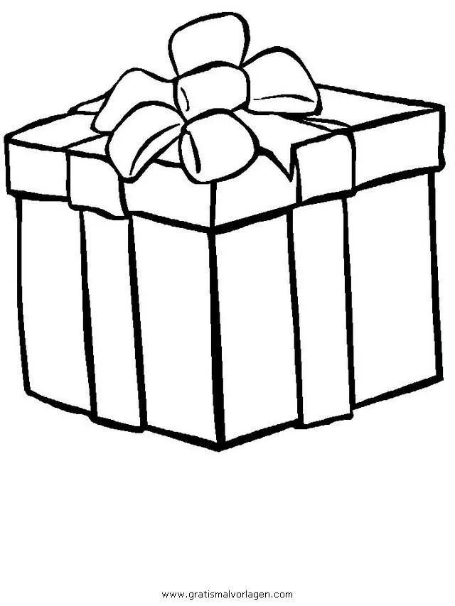Geschenke 14 gratis Malvorlage in Geschenke Weihnachten