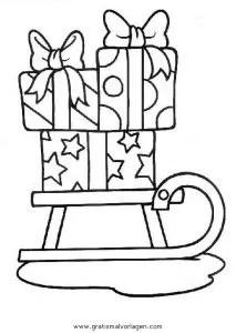 Geschenke 21 Gratis Malvorlage In Geschenke Weihnachten