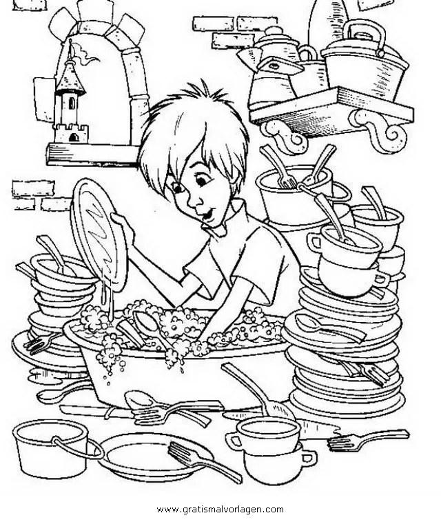 Geschirr 11 gratis Malvorlage in Beliebt04 Diverse