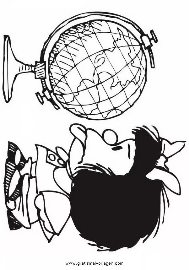 Globus 3 gratis Malvorlage in Beliebt05 Diverse