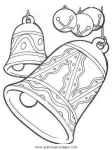 Glocke 25 gratis Malvorlage in Glocke Weihnachten - ausmalen