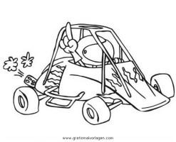 gokart 2 gratis Malvorlage in Autos, Transportmittel ...