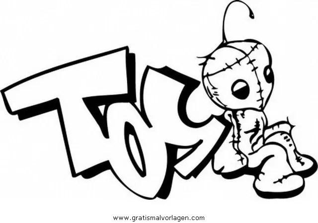 Graffiti grafiti 24 gratis Malvorlage in Diverse