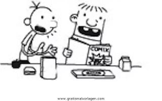 gregs tagebuch 12 gratis Malvorlage in Comic ...