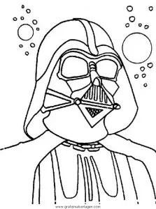 Darth Vader gratis Malvorlage in Science Fiction, Star