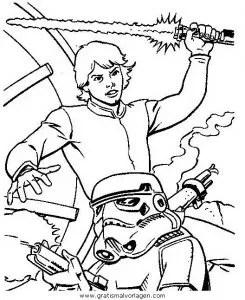 Luke Stormtrooper 2 gratis Malvorlage in Science Fiction