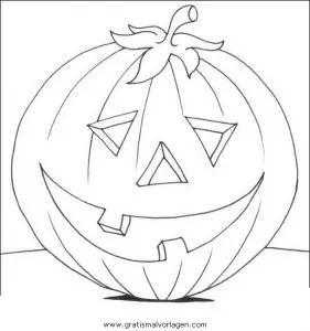 Halloween kurbisse 21 gratis Malvorlage in Halloween