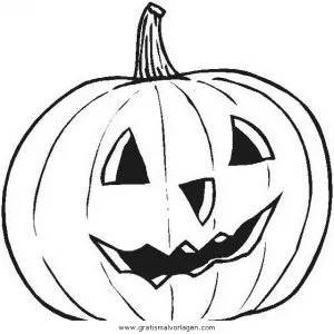 Halloween kurbisse 24 gratis Malvorlage in Halloween