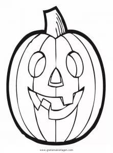 Halloween kurbisse 41 gratis Malvorlage in Halloween