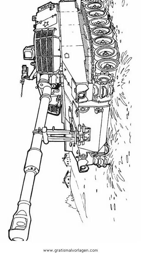 Panzer Bilder Zum Ausmalen - Vorlagen zum Ausmalen gratis