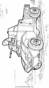 Hummel panzer 03 gratis Malvorlage in Panzer