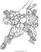 iron man 13 gratis Malvorlage in Comic & Trickfilmfiguren ...