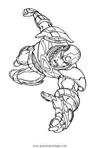 Iron man 19 gratis Malvorlage in Comic & Trickfilmfiguren