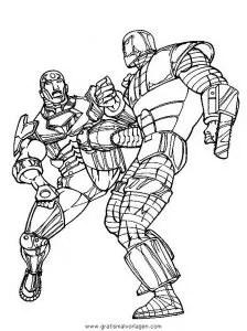 Iron man 23 gratis Malvorlage in Comic & Trickfilmfiguren