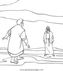 Jesus 002 gratis Malvorlage in Jesus Religionen - ausmalen