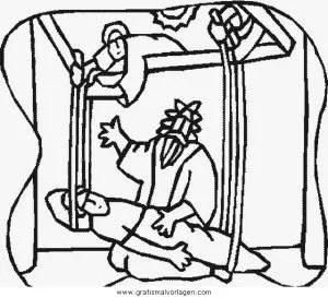 Jesus 021 gratis Malvorlage in Jesus Religionen - ausmalen