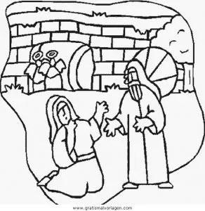 Jesus 031 gratis Malvorlage in Jesus Religionen - ausmalen