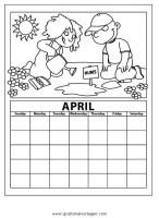 kalender 13 gratis Malvorlage in Diverse Malvorlagen ...