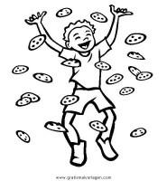 kekse 7 gratis Malvorlage in Essen & Trinken, Lebensmittel ...