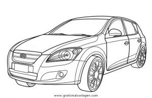 kia ceed gratis Malvorlage in Autos2, Transportmittel