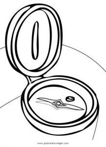 Kompass 4 gratis Malvorlage in Beliebt03 Diverse