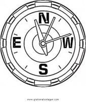 kompass 6 gratis Malvorlage in Beliebt03, Diverse ...
