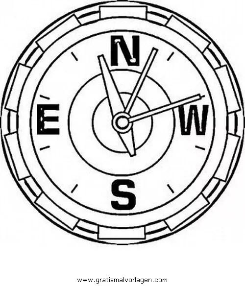 Kompass 6 gratis Malvorlage in Beliebt03 Diverse