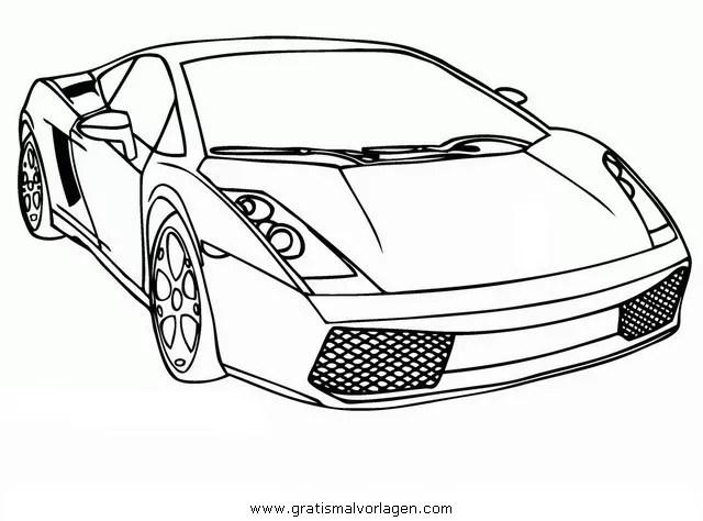 Lamborghini 00 gratis Malvorlage in Autos2