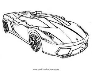 Lamborghini 05 gratis Malvorlage in Autos2