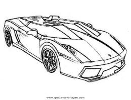 lamborghini 05 gratis Malvorlage in Autos2 ...