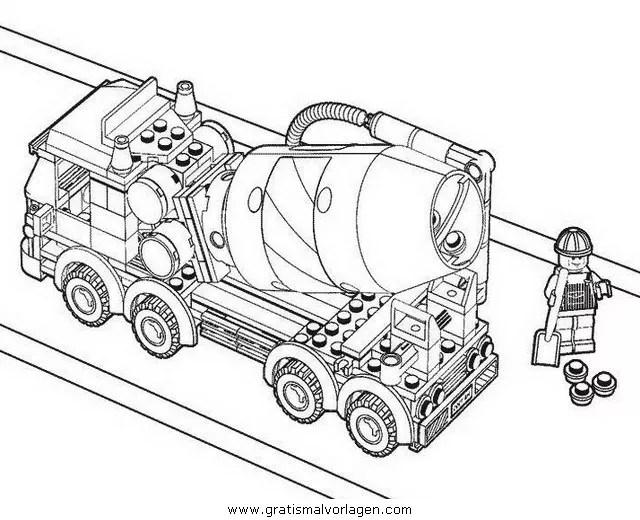 Lego 03 gratis Malvorlage in Comic & Trickfilmfiguren