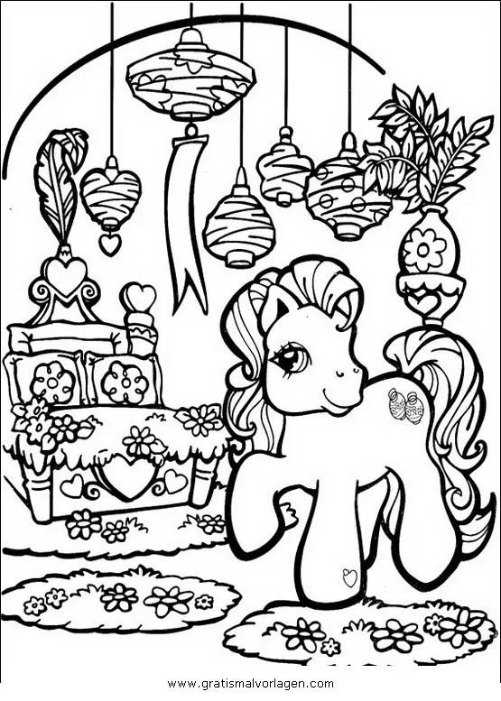 Little pony 17 gratis Malvorlage in Comic
