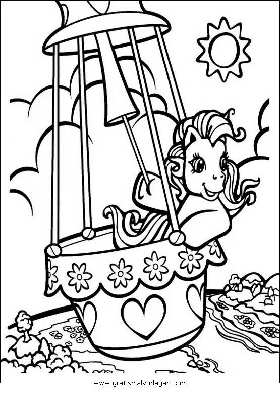 Little pony 20 gratis Malvorlage in Comic