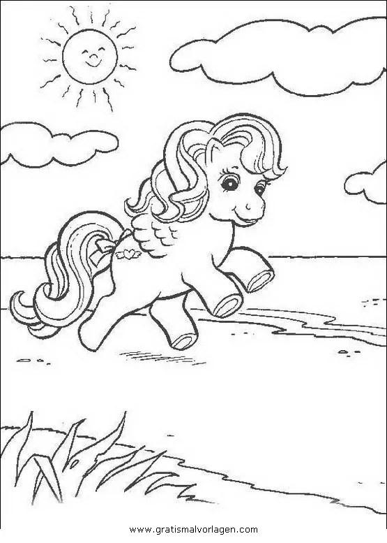 Little pony 27 gratis Malvorlage in Comic