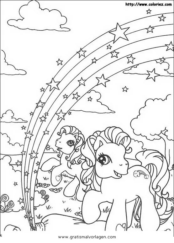 Little pony 39 gratis Malvorlage in Comic