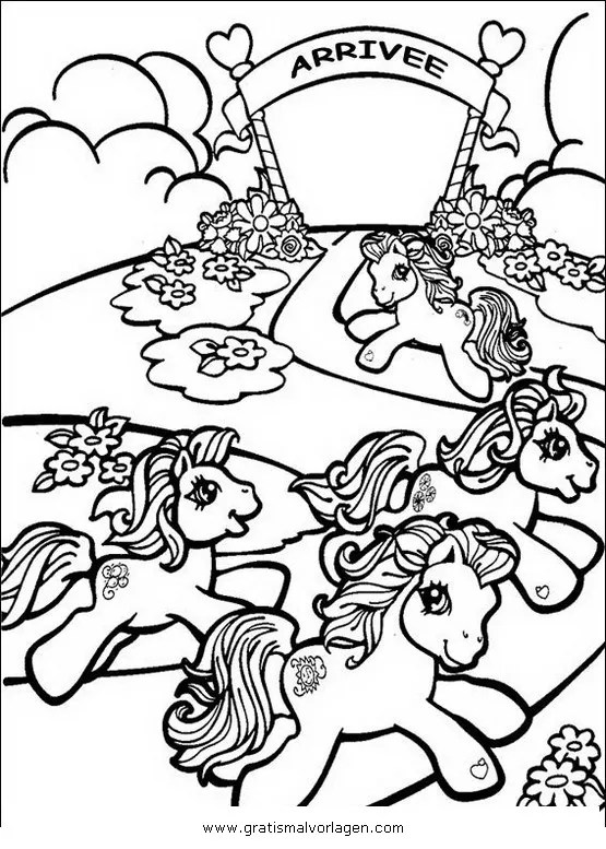 Little pony 42 gratis Malvorlage in Comic