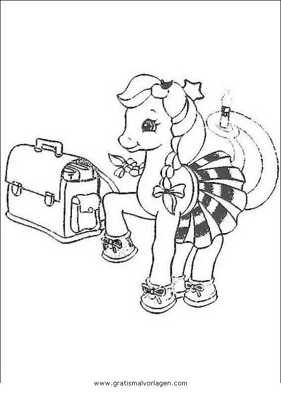 Little pony 46 gratis Malvorlage in Comic
