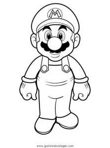 Mario bros 15 gratis Malvorlage in Comic
