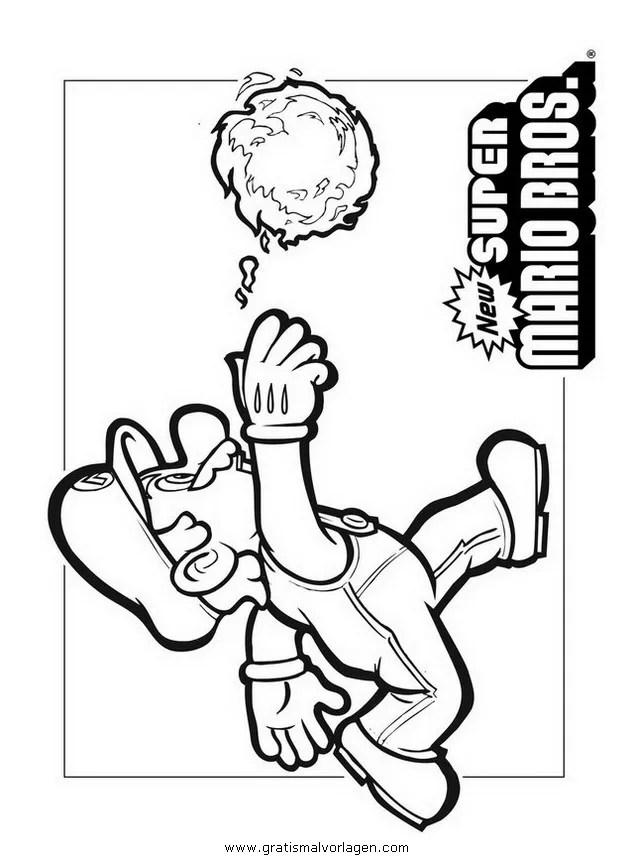 mario bros 22 gratis Malvorlage in Comic