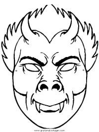 √ Malvorlagen Masken Tiere Masken Zum Ausmalen Frisch