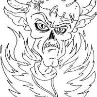 monster 049 gratis Malvorlage in Fantasie, Monster   ausmalen