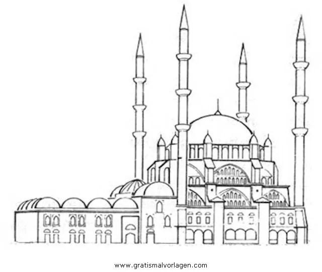 Moschee Gratis Malvorlage In Beliebt07 Diverse