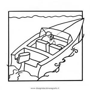 Motorboot 0 gratis Malvorlage in Boote Transportmittel