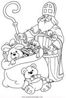 nikolaus 2 gratis Malvorlage in Weihnachten ...