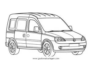opel combo gratis Malvorlage in Autos2, Transportmittel