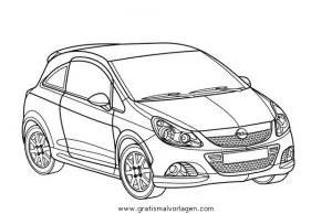 opel corsa gratis Malvorlage in Autos2, Transportmittel