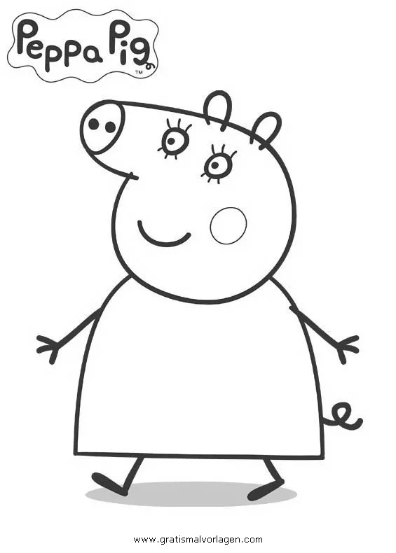 Peppa wutz 10 gratis Malvorlage in Comic